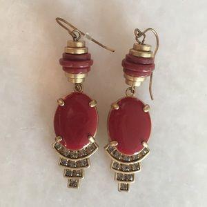 Madewell Art Deco Inspired Earrings